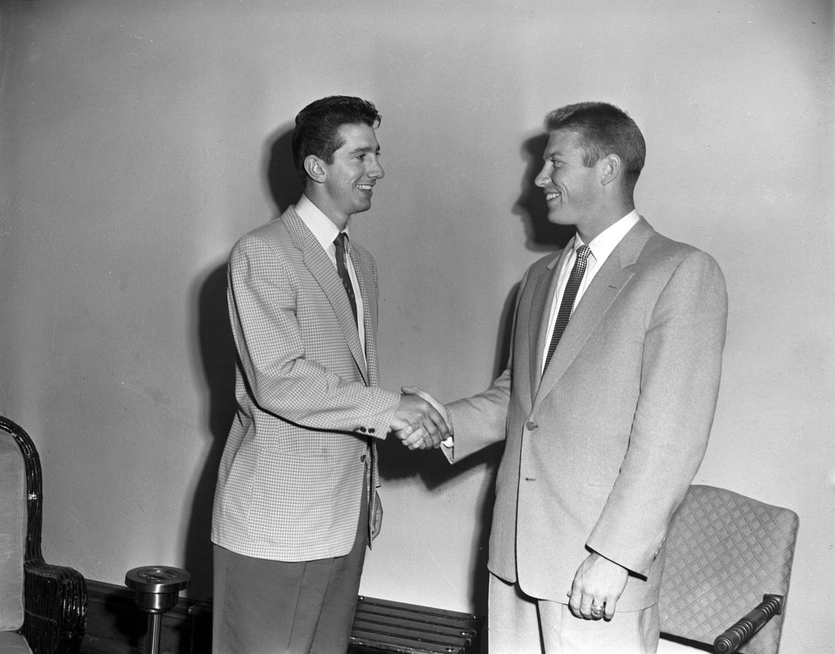 Billy Martin and Mickey Mantle