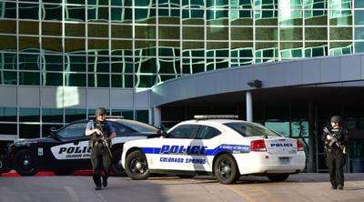 Police at Hospital