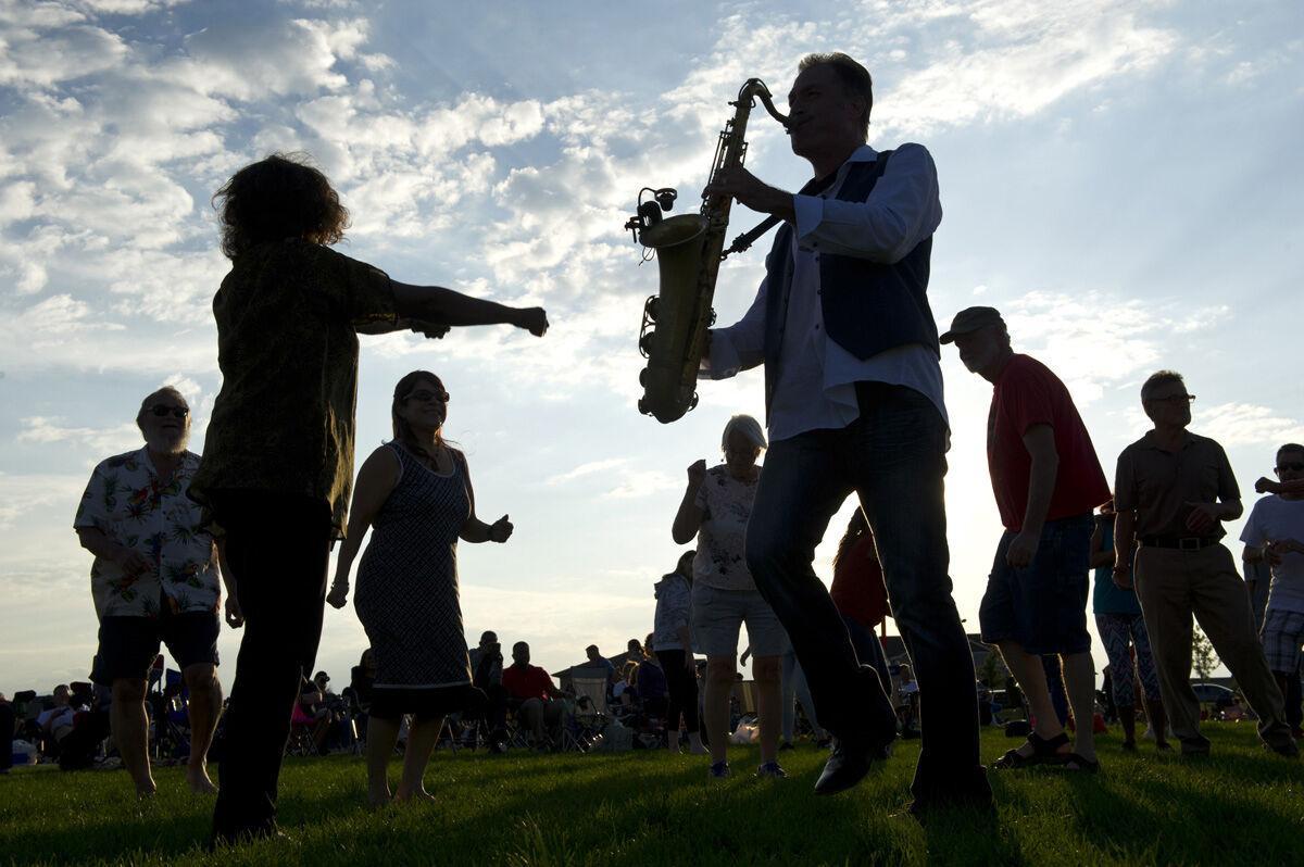 BANNING LEWIS RANCH SUMMER CONCERT SERIES - sax-player-n-dancers