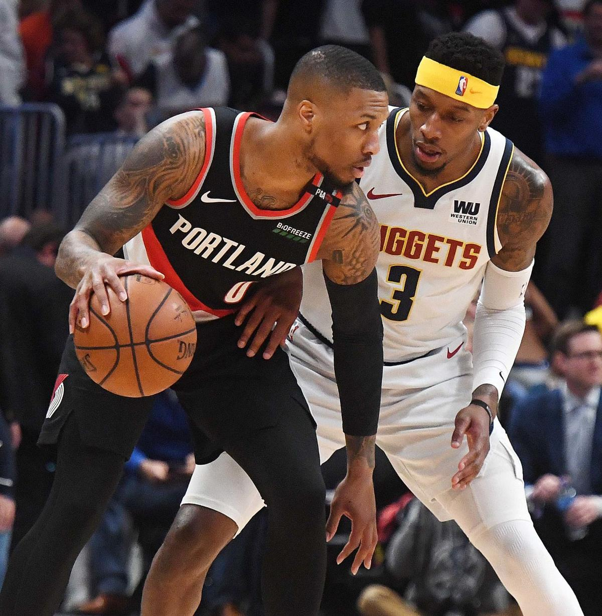 Nuggets Trailblazers