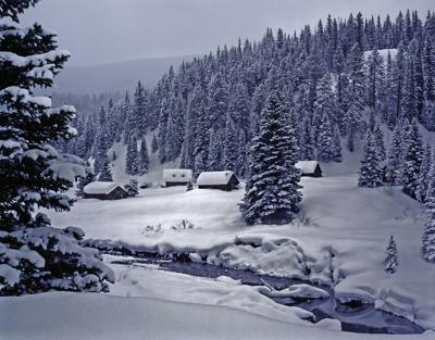 Snow in the Colorado Rockies Photo Credit: dszc (iStock).