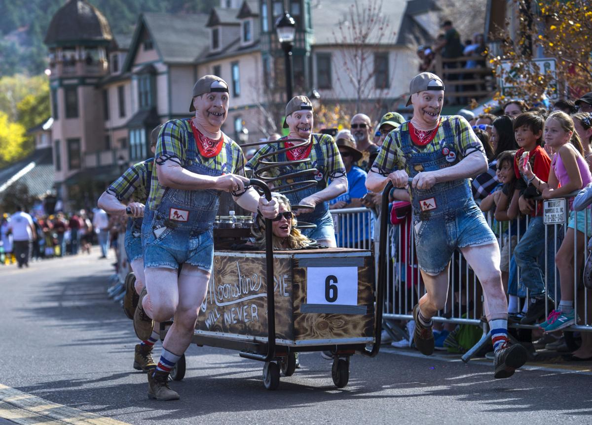 Get your freak on at Manitou Springs' coffin races