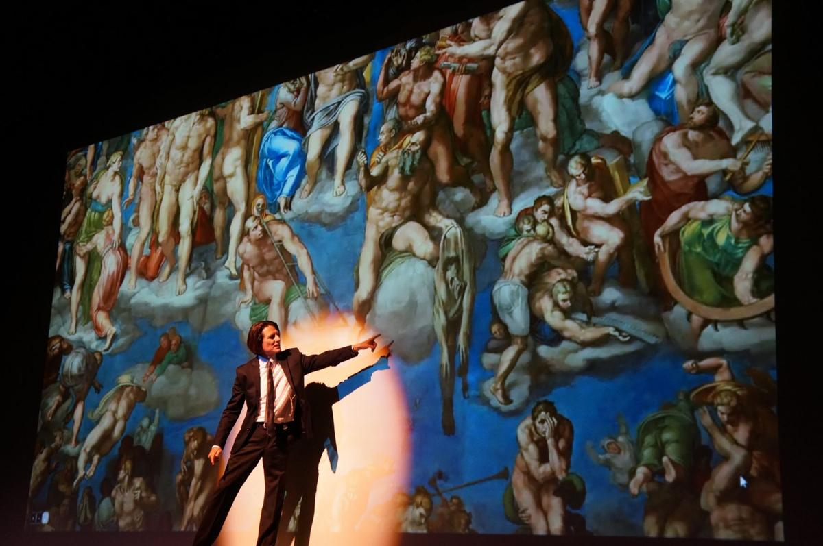 Genius of Da Vinci, Michelangelo revealed when traveling show stops in Colorado Springs