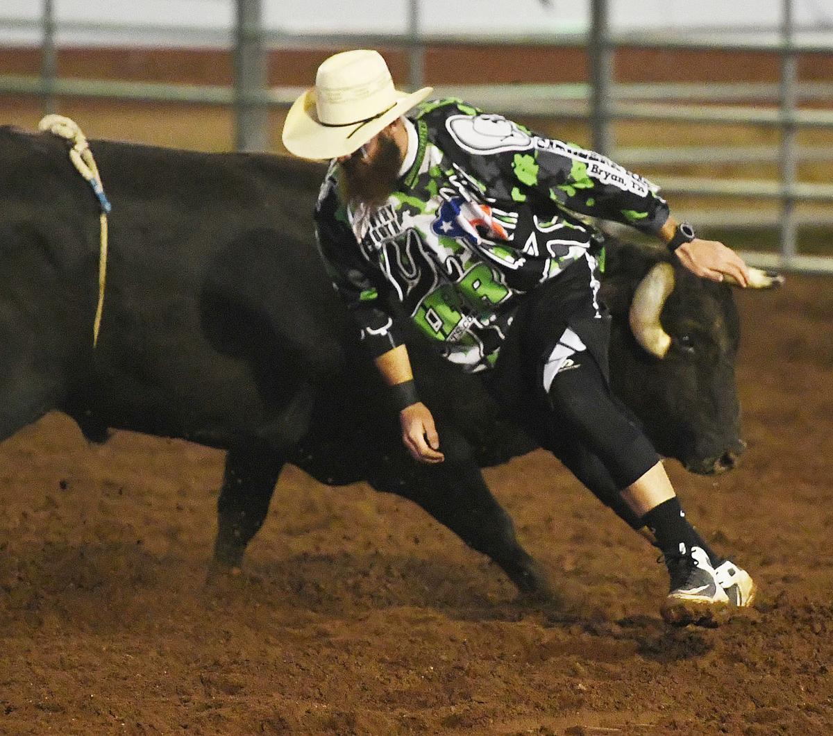 rodeo bullfighter