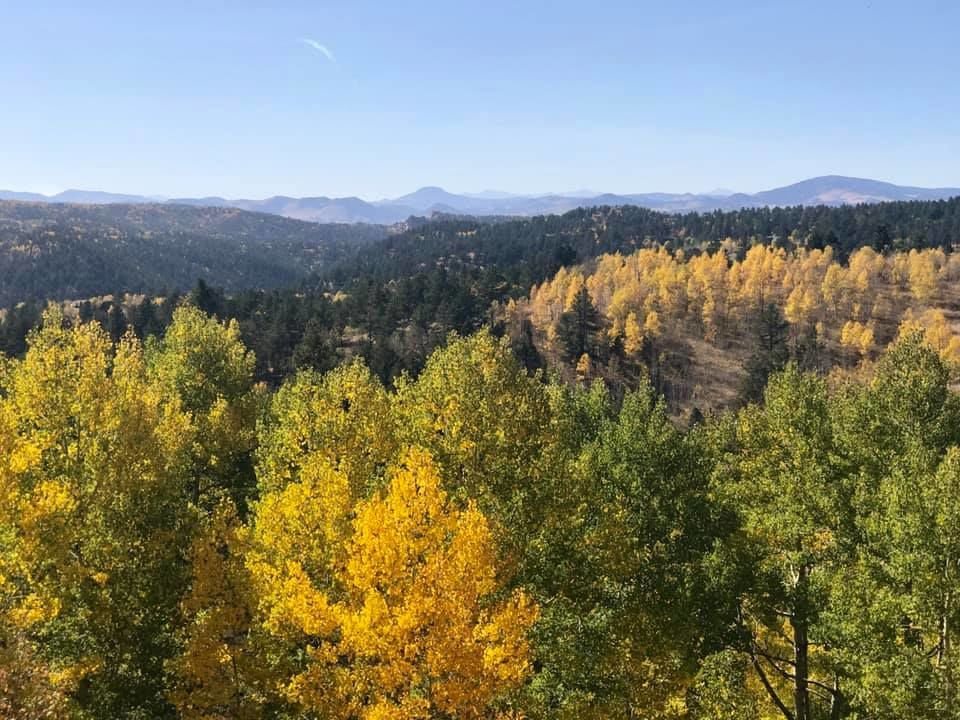 Fall brings golden aspens and snow across Front Range