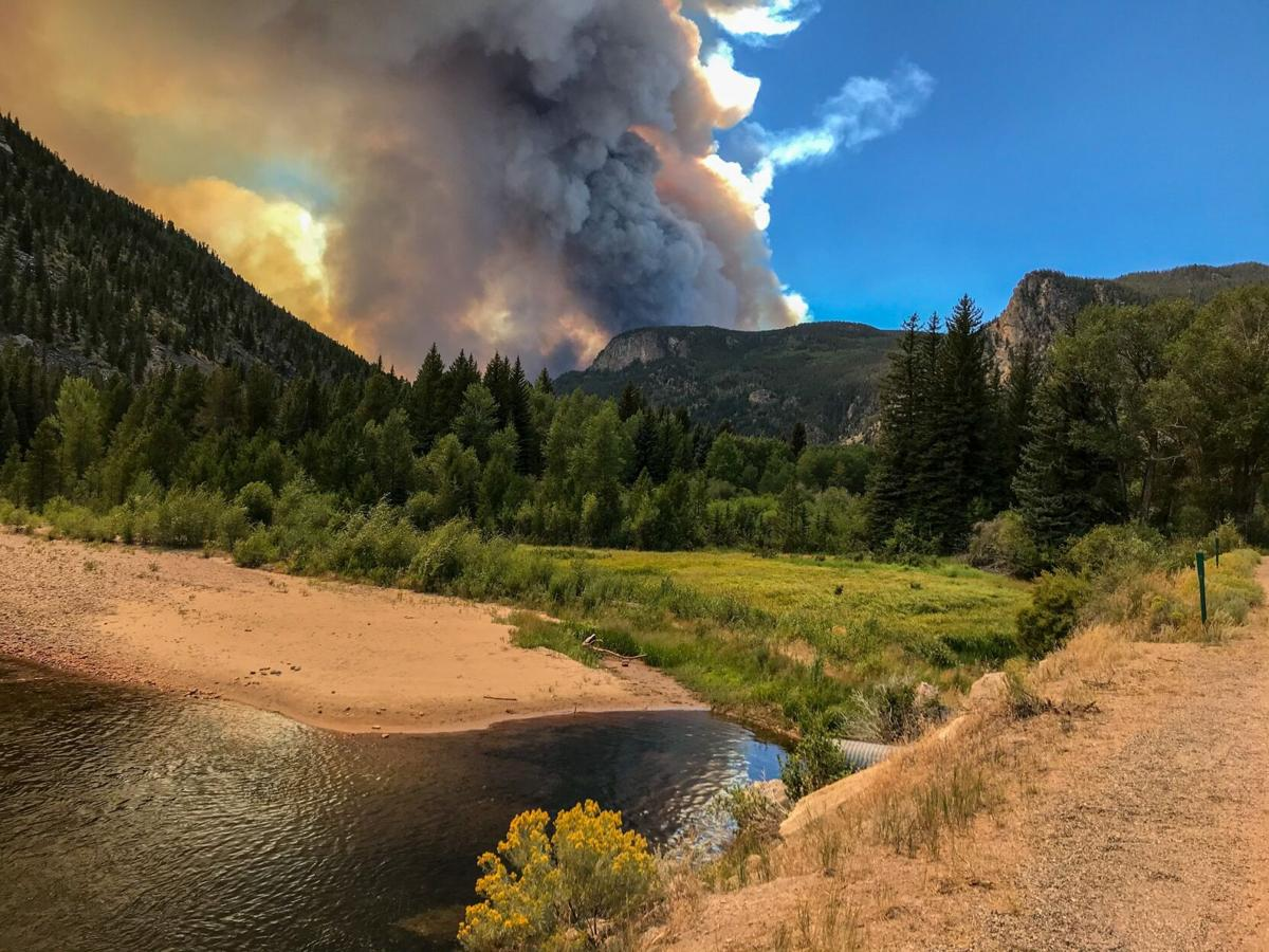 Images of Colorado wildfires