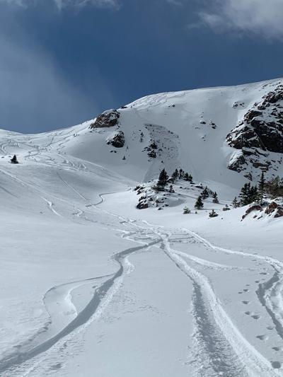 Avalanche near Vail