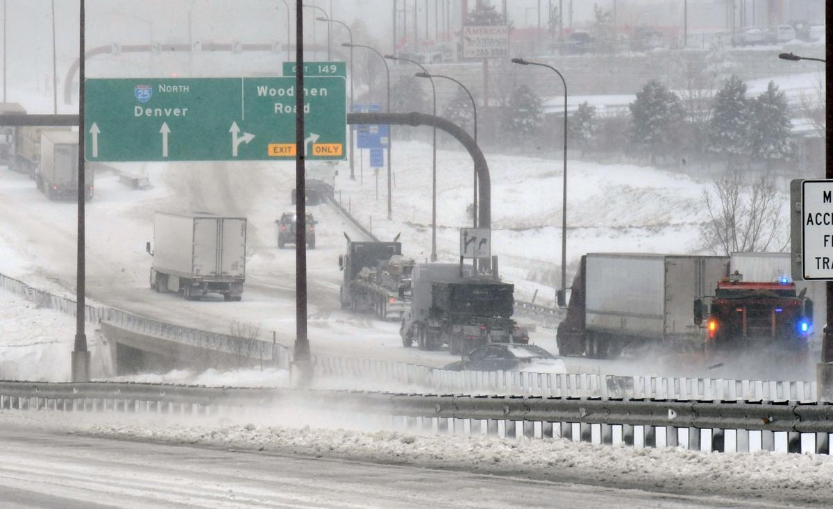 Wednesday's traffic: I-25 to remain closed north of Colorado