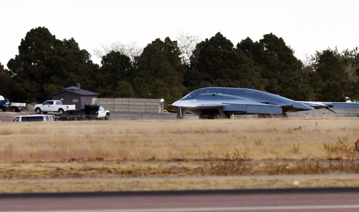 B-2 bomber forced to make emergency landing at Colorado