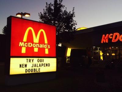 3 arrested at Denver fast food wage protest outside McDonald's (copy)