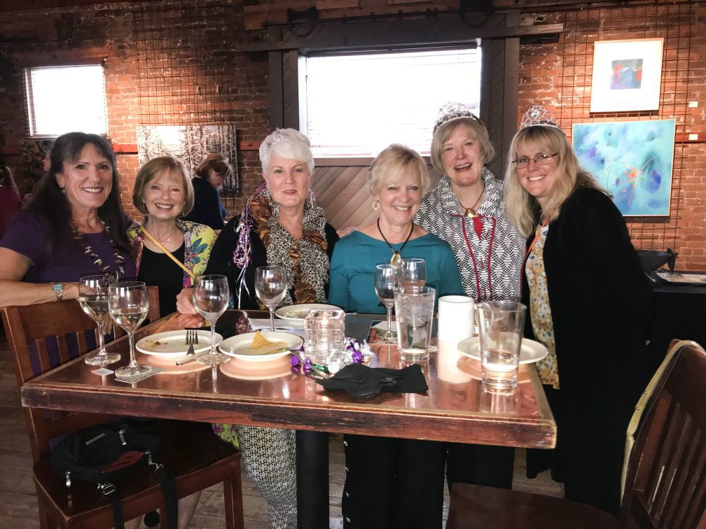 Woman's Club annual TTT Party was a success