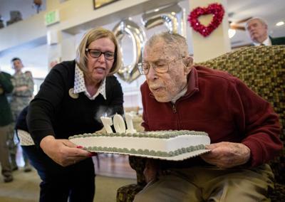 "Copy"" 'Flying Tigers' hero, Colorado's oldest WWII veteran, celebrates 107 years (copy)"