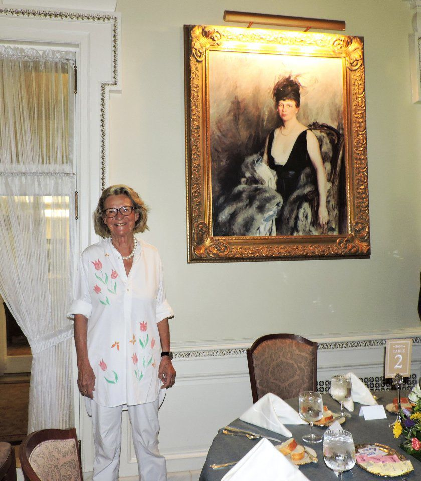 AROUND TOWN: Great-granddaughter Of Julie Penrose Relives