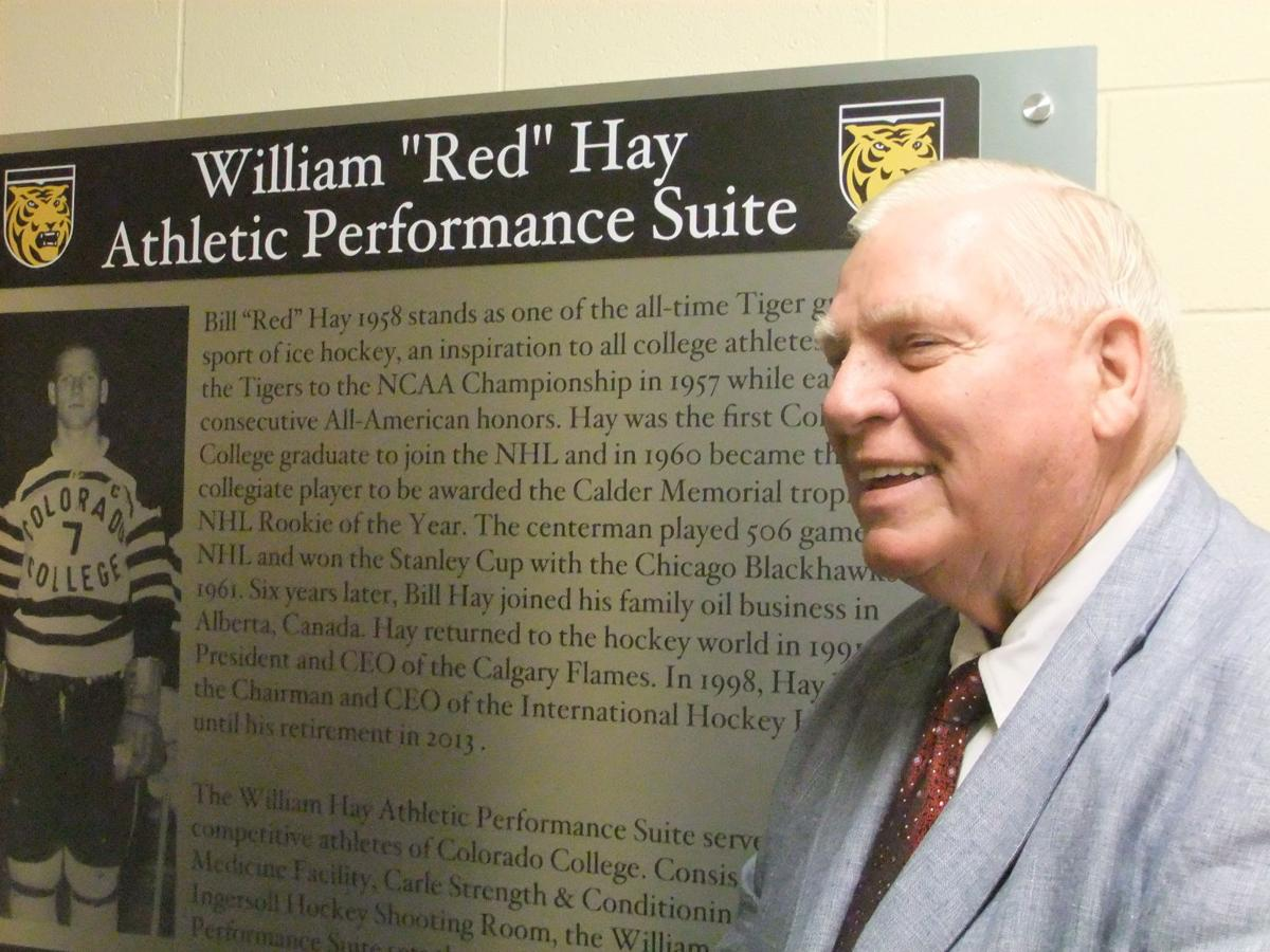 Former Colorado College, Chicago Blackhawks standout Bill 'Red' Hay named to Hockey Hall of Fame