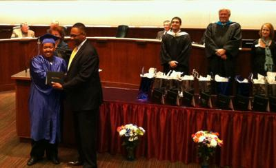 Harrison D-2 celebrates first graduation for second-chance students