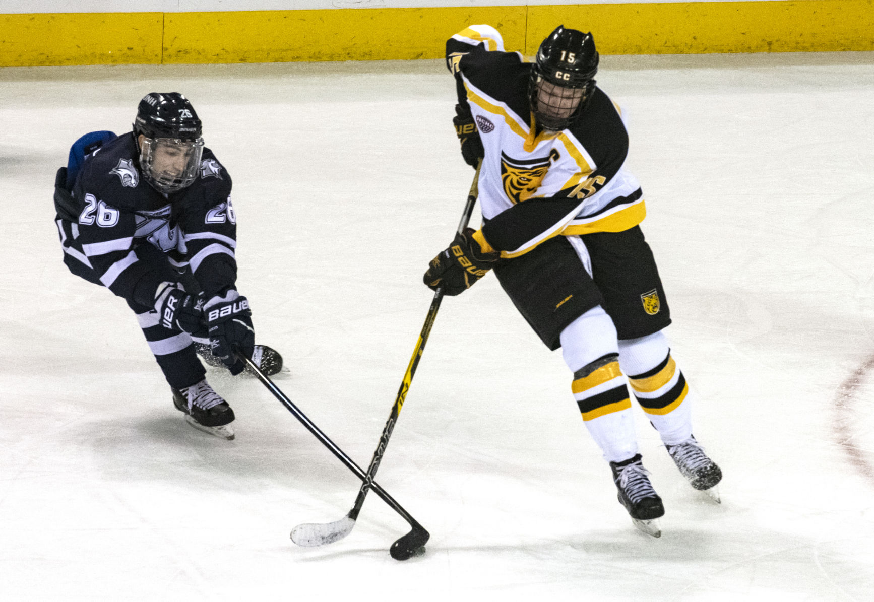 NCHC: Bergh, CC Hockey Hope For 'puck Luck,' Good Omens As No. 2 St. Cloud State Comes To Town