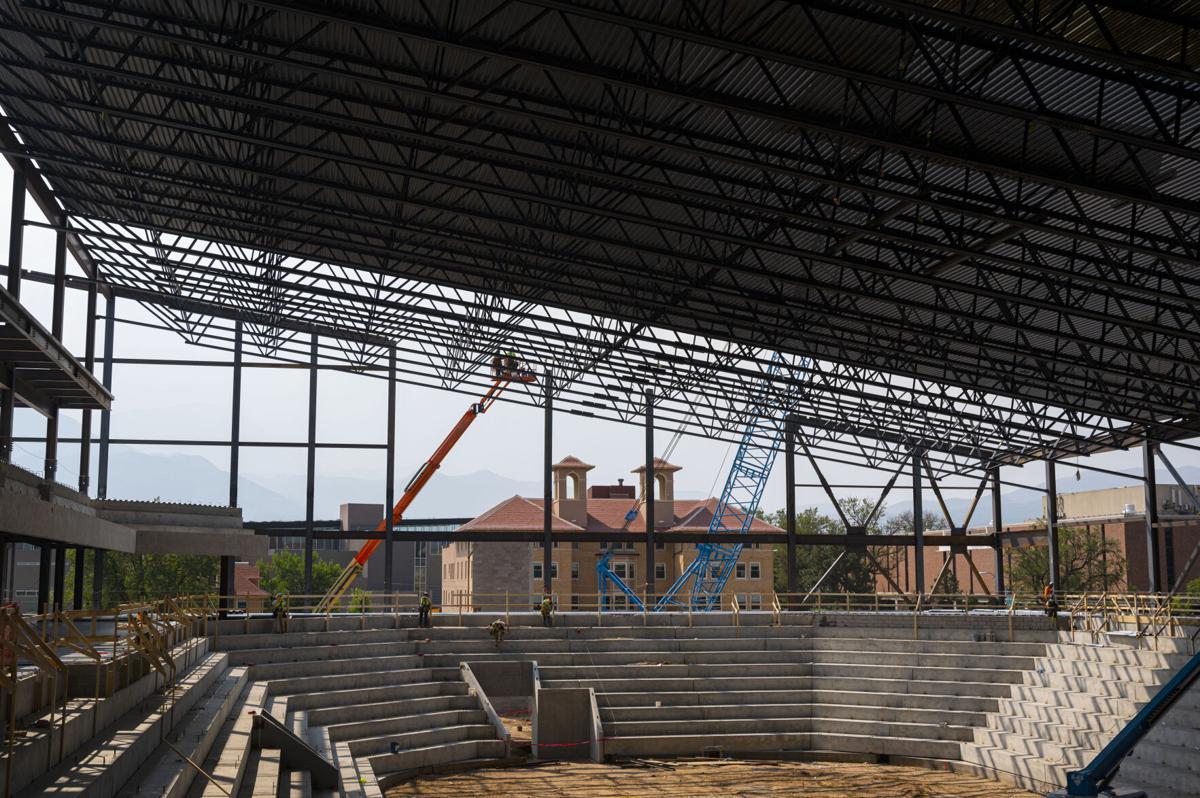 Colorado College's Robson Arena takes form