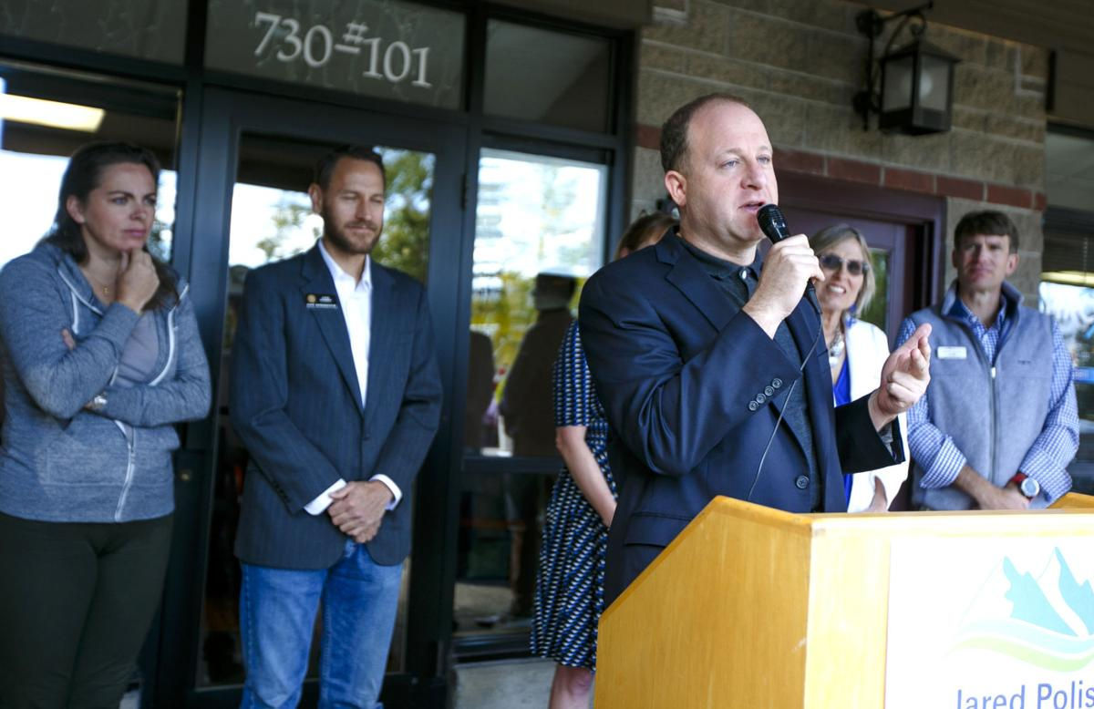 Polis expands on health-care plans he'd use as governor