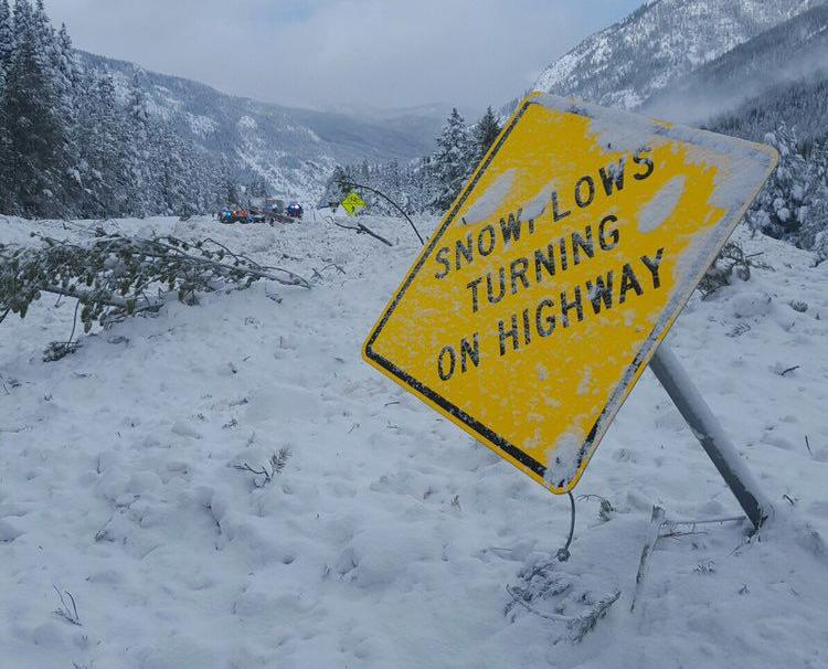 Avalanches shut down travel in the high country
