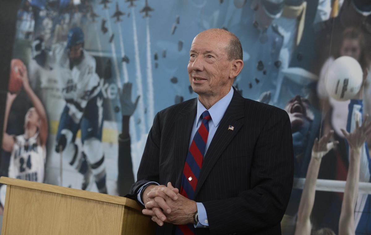 A Q and A with Air Force athletic director Hans Mueh