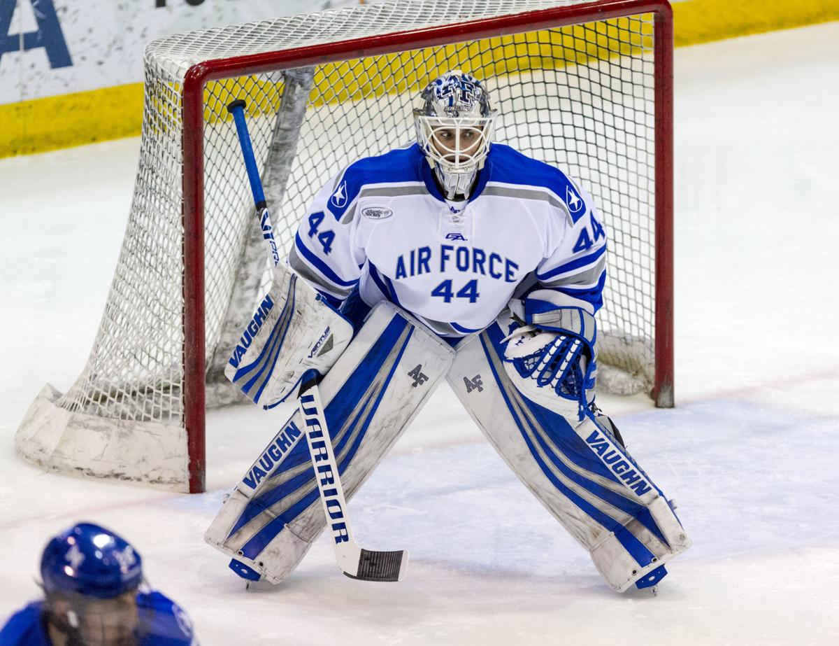 Air Force Hockey Comes Up Short In Ice Vegas Championship Game
