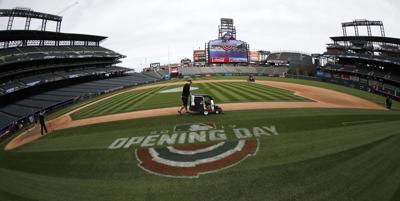 Dodgers Rockies Baseball Coors Field