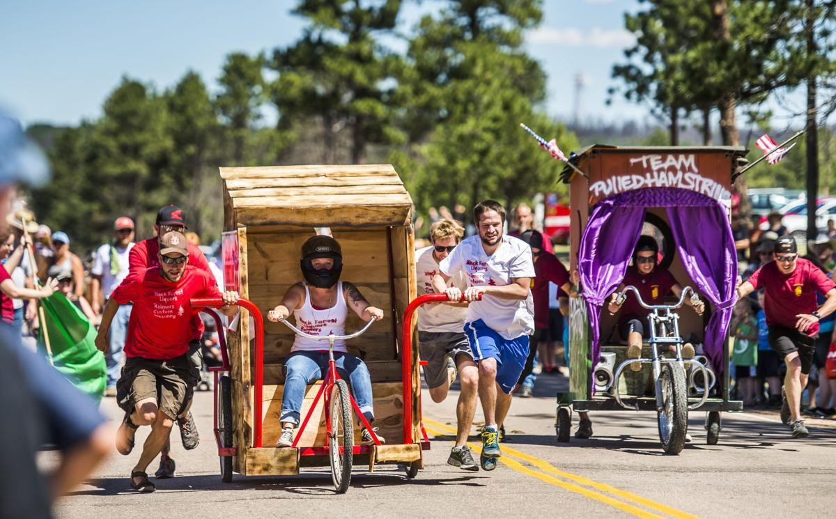 Black Forest festival kicks off with outhouse races, parade in celebration of community (copy)