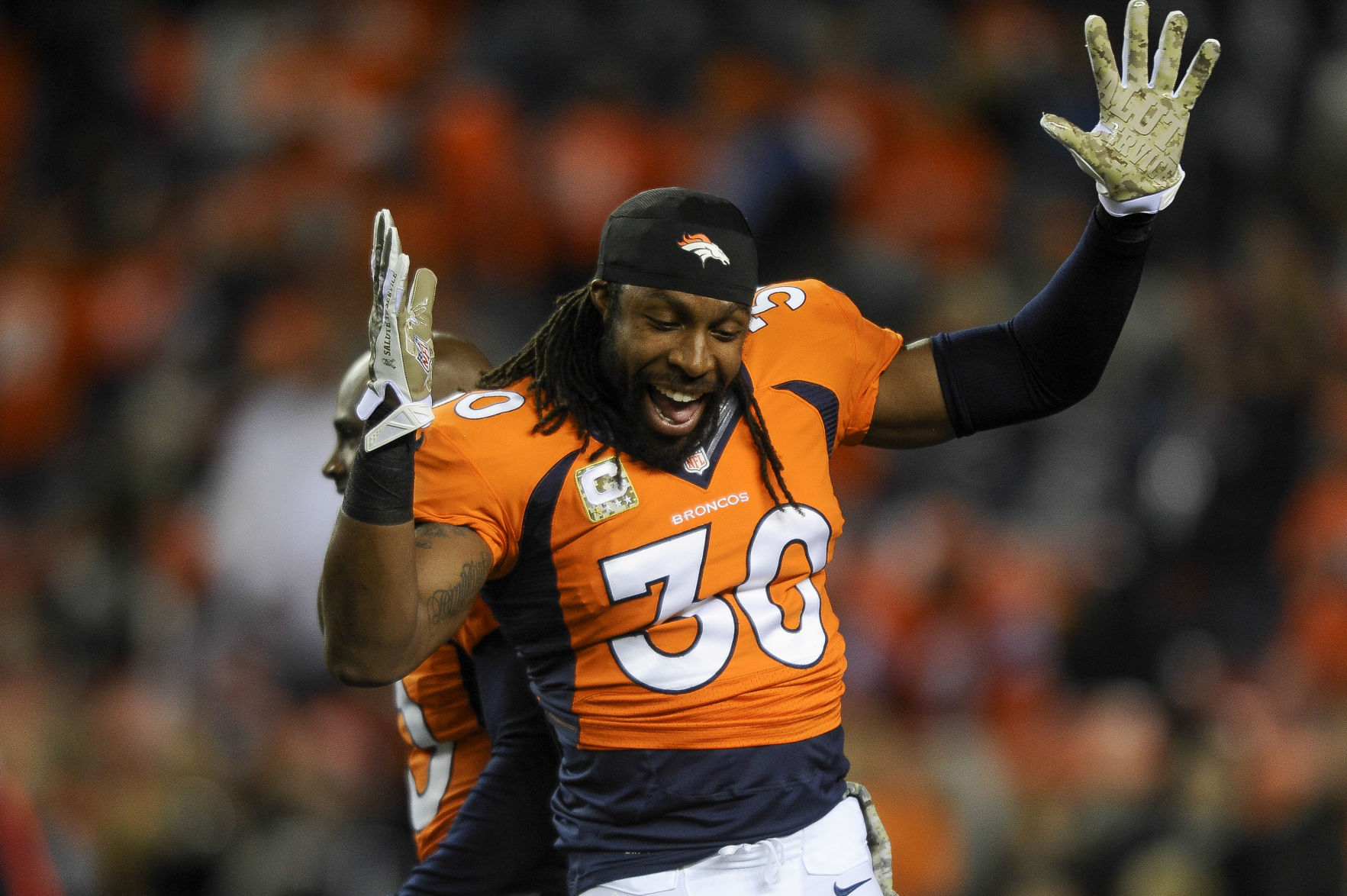 Former Broncos safety David Bruton is retiring from the NFL ...