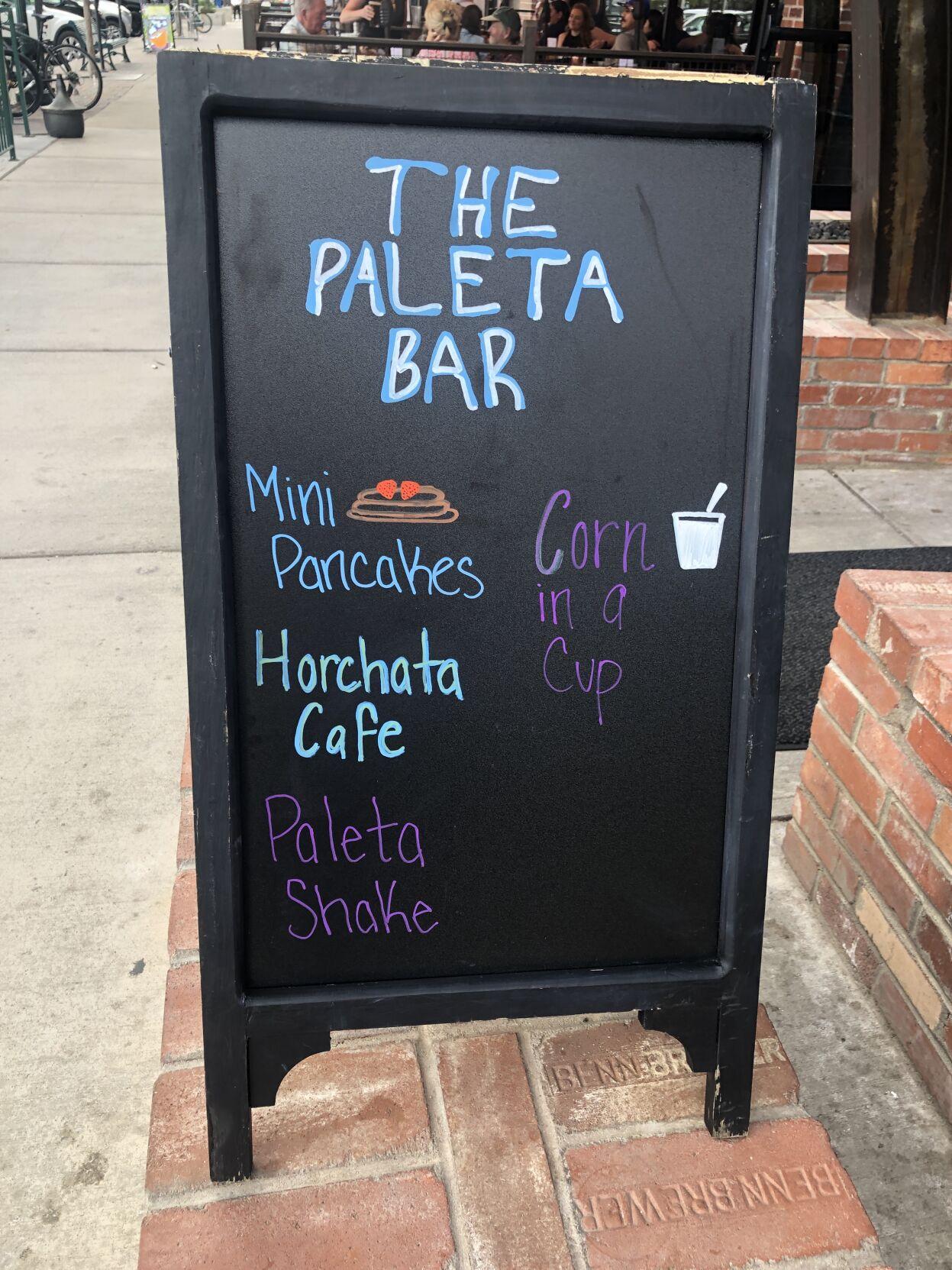 The Paleta Bar