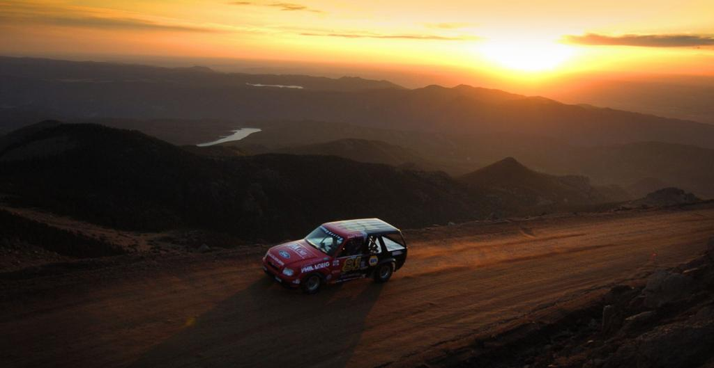 Racing 'in the blood' of Christmas family at Pikes Peak