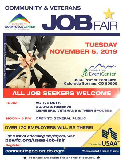 Pikes Peak Workforce Center job fair
