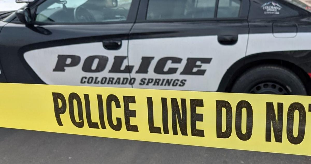 Colorado Springs police tape