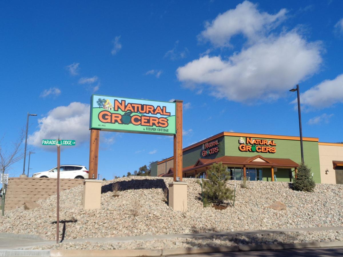 Natural Grocers under construction