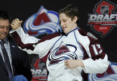 NHL Draft Hockey MacKinnon