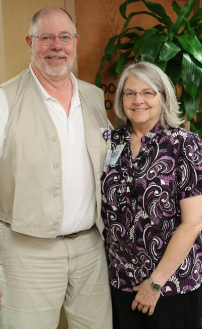 Penrose-St. Francis RN's life saved with swift action during stroke