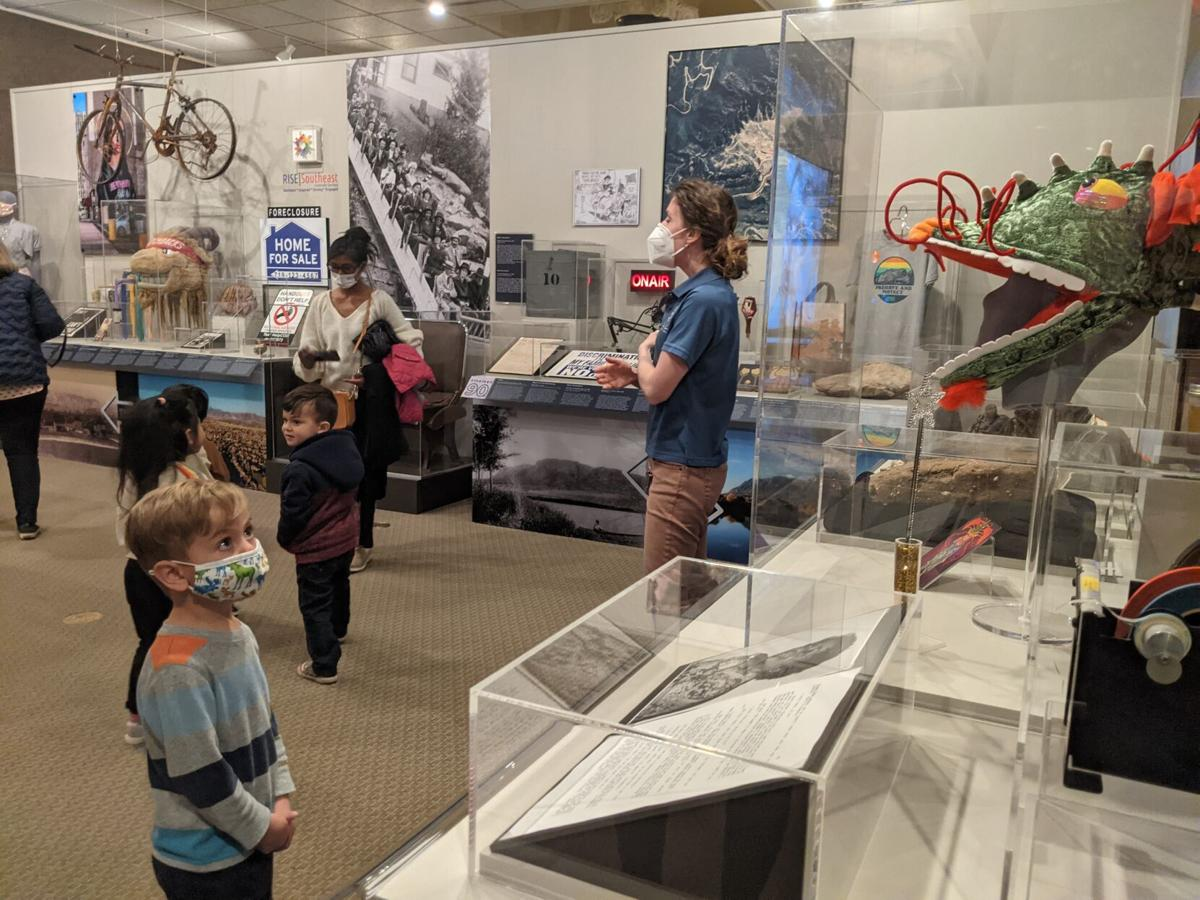Kids explore COS@150 sesquicentennial exhibit.jpg