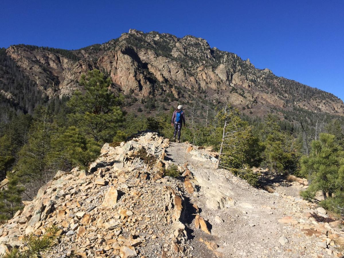 Happy Trails: Talon Trail, Cheyenne Mountain State Park