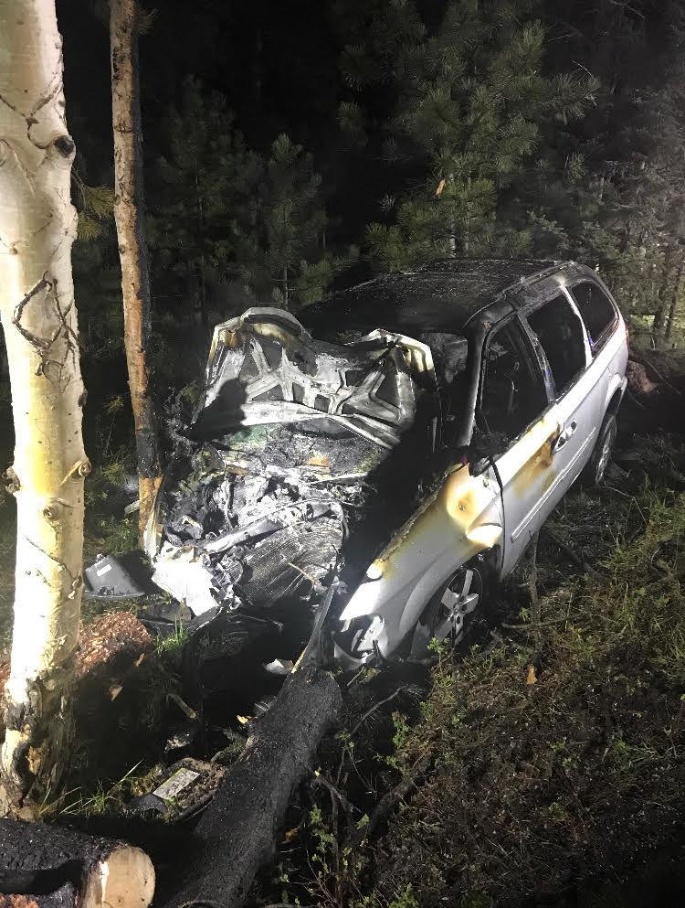 Teller County crash 092918