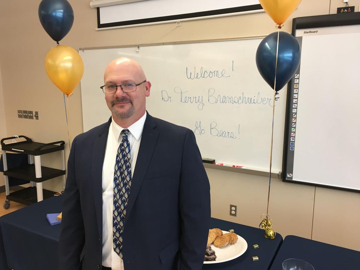 New Palmer Ridge High School Principal Dr. Terry Bramschreiber
