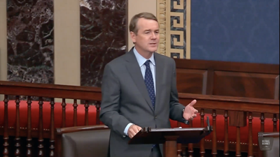 U.S. Michael Bennet floor speech