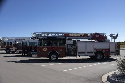 Donald Wescott Fire Protection District fire truck