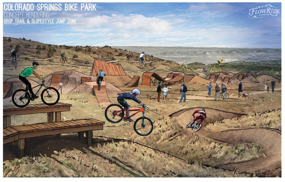 Pikeview Quarry's history of rockslides raises doubts about bike park proposal