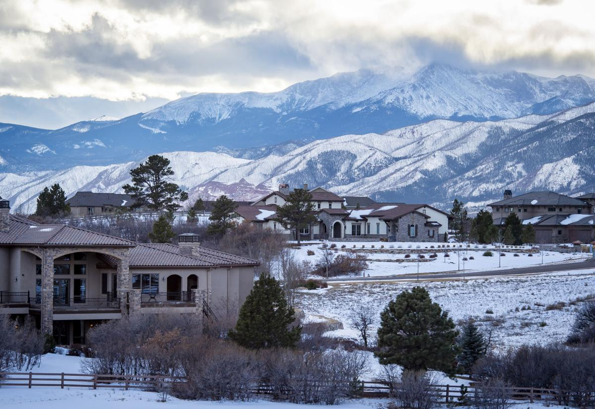 (TRIBUNE) Flying Horse with views of Pikes Peak