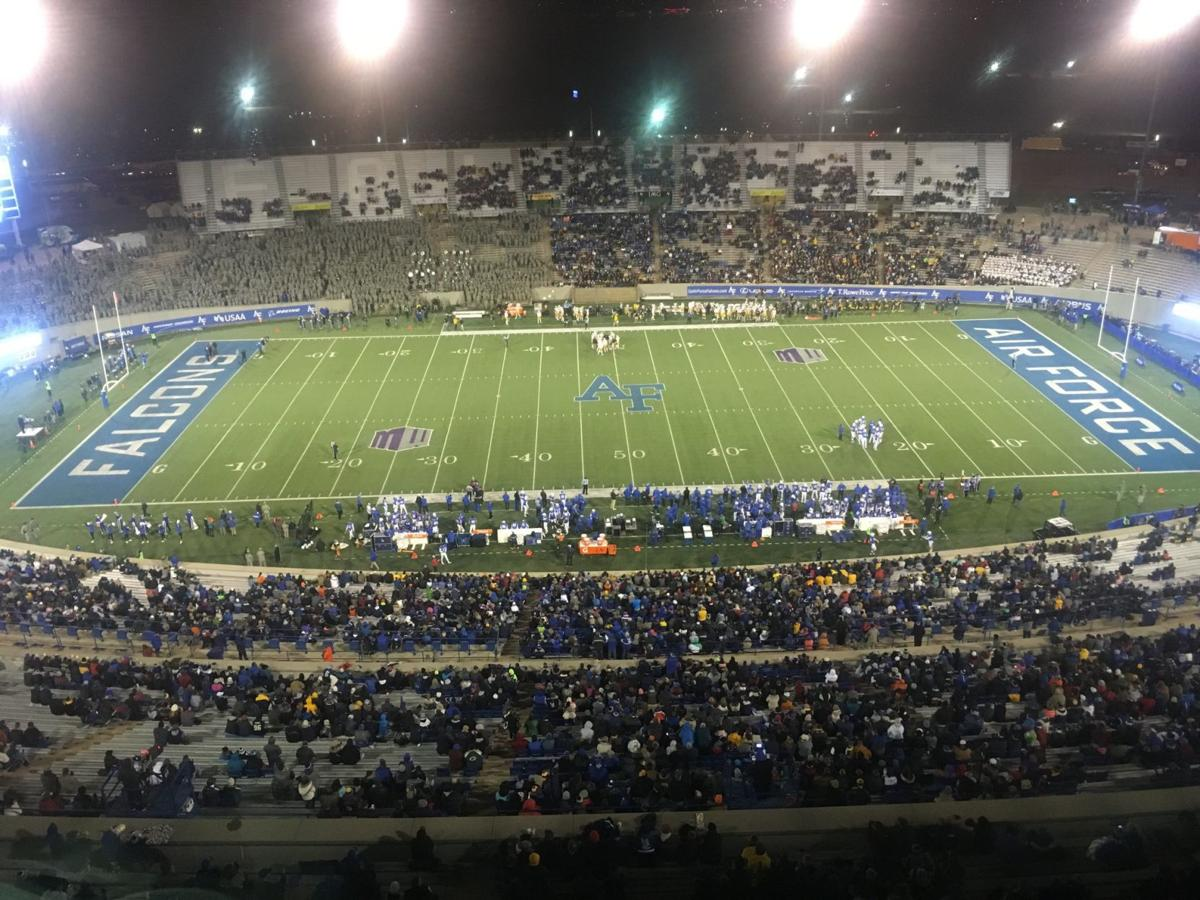 Another late start assigned to Air Force football, which will close the season with 3 straight 8:15 p.m. games