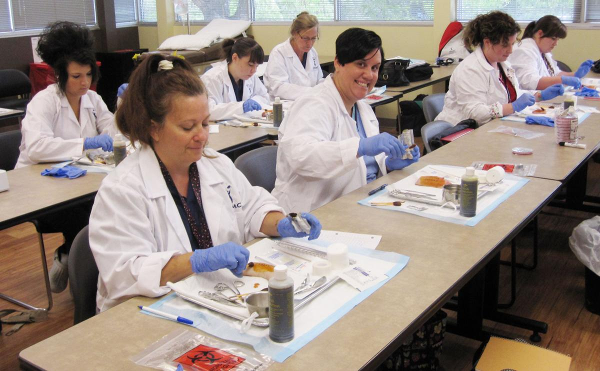 Small class sizes, accelerated training designed to move students forward