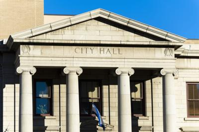 (CHEYENNE) City Hall in Colorado Springs