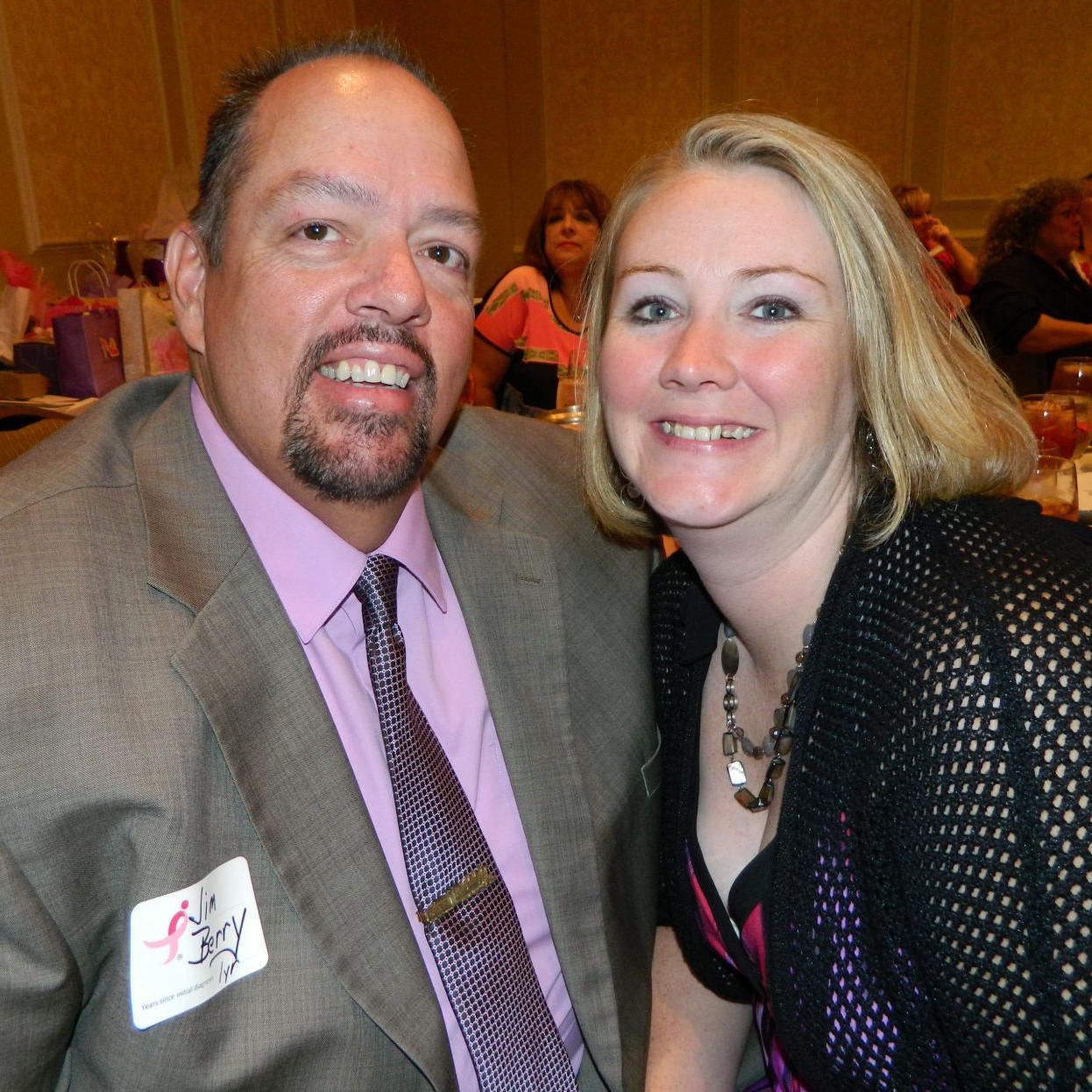 AROUND TOWN: Radio personality Jim Berry a breast cancer survivor