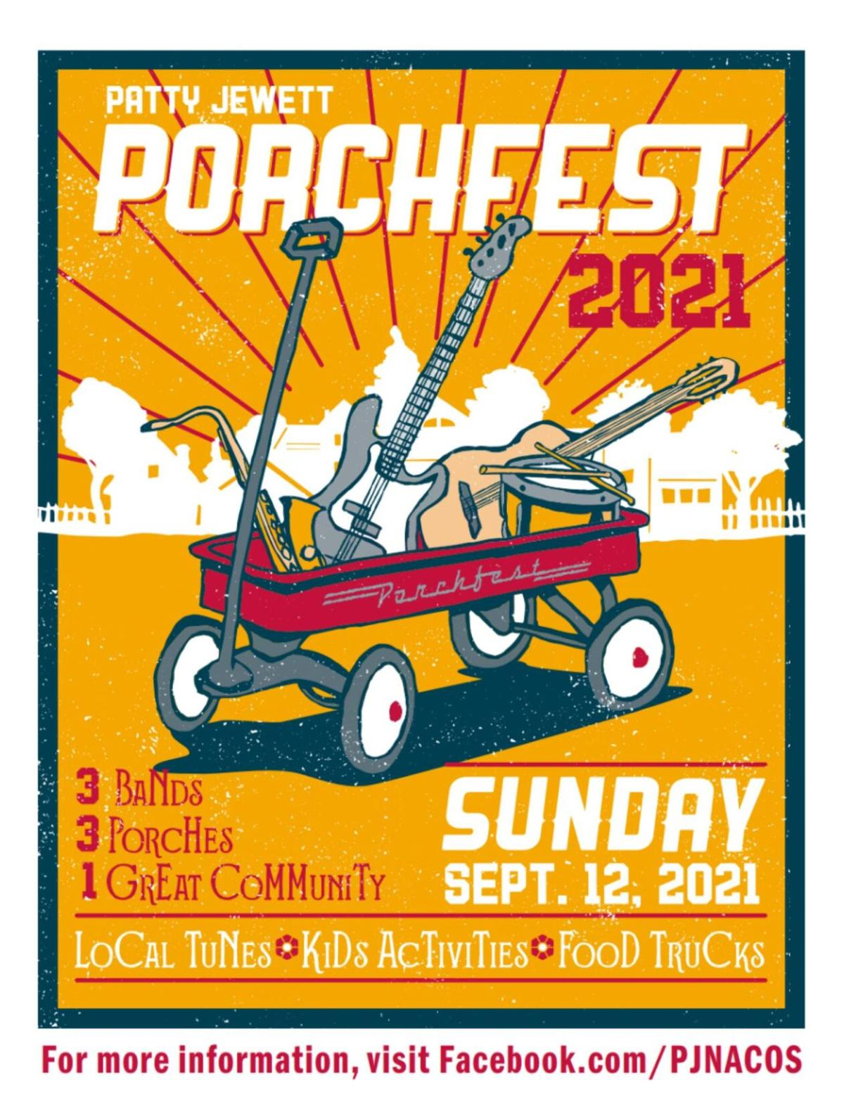 Porchfest poster
