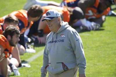 Broncos Camp Football Fangio2