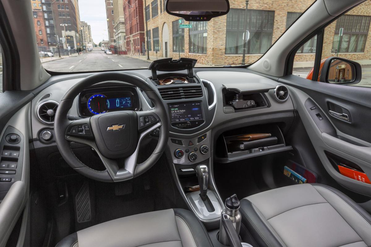 2016 Chevrolet Trax LTZ Interior